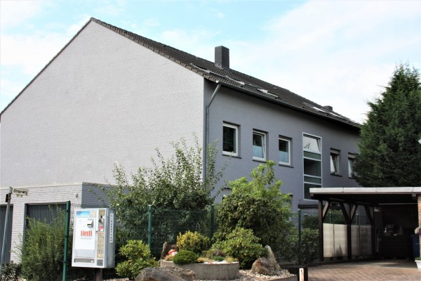 Gepflegte Erdgeschosswohnung mit  schönem Gartenanteil in Brüggen!